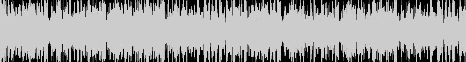 打楽器メインのヘヴィーLOOP BGMの未再生の波形