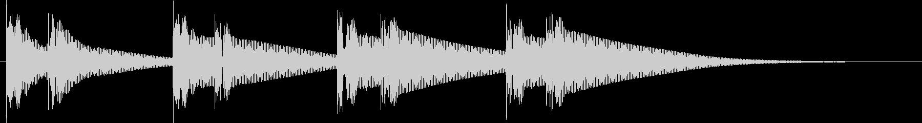 ドゥグドゥグ.。心臓の音G(ウネリ・長)の未再生の波形