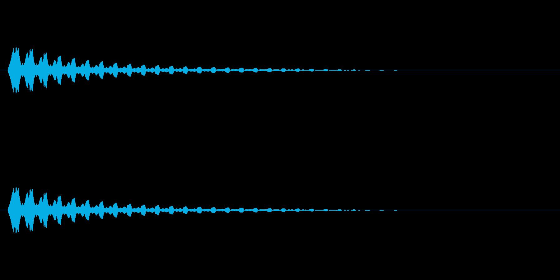 【ポップモーション17-5】の再生済みの波形