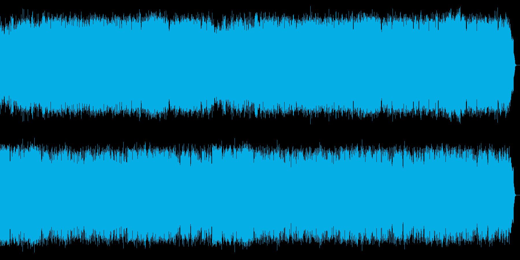 SAXほっこりする温かい曲風の再生済みの波形