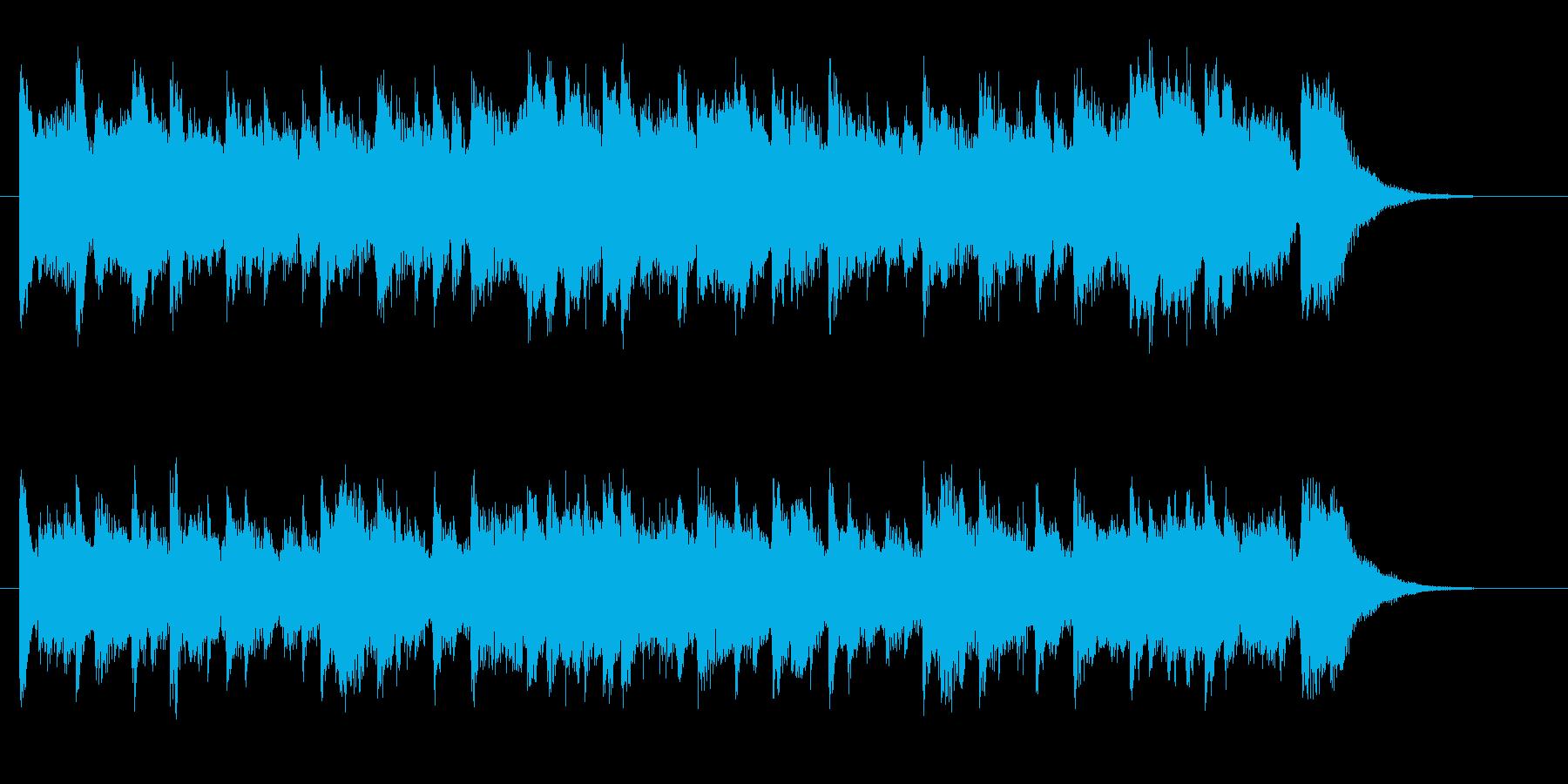 ゆったり優雅で感動的なピアノのバラードの再生済みの波形