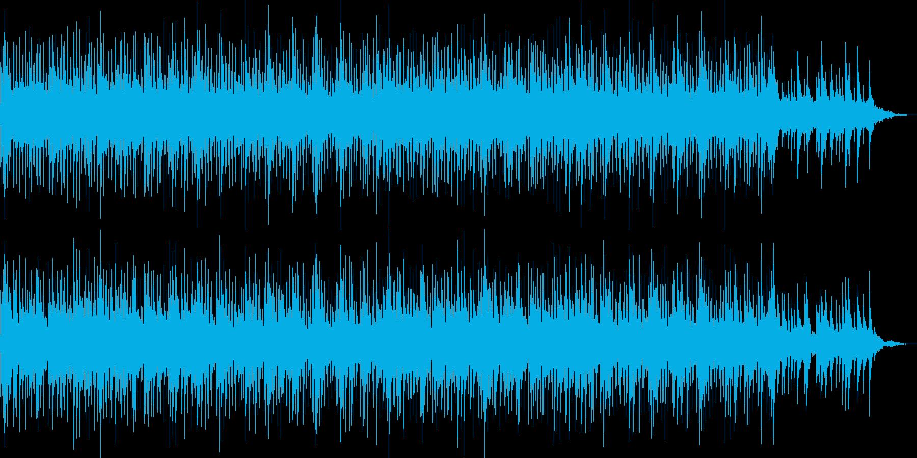 シンプルな明るく爽やかなピアノポップの再生済みの波形