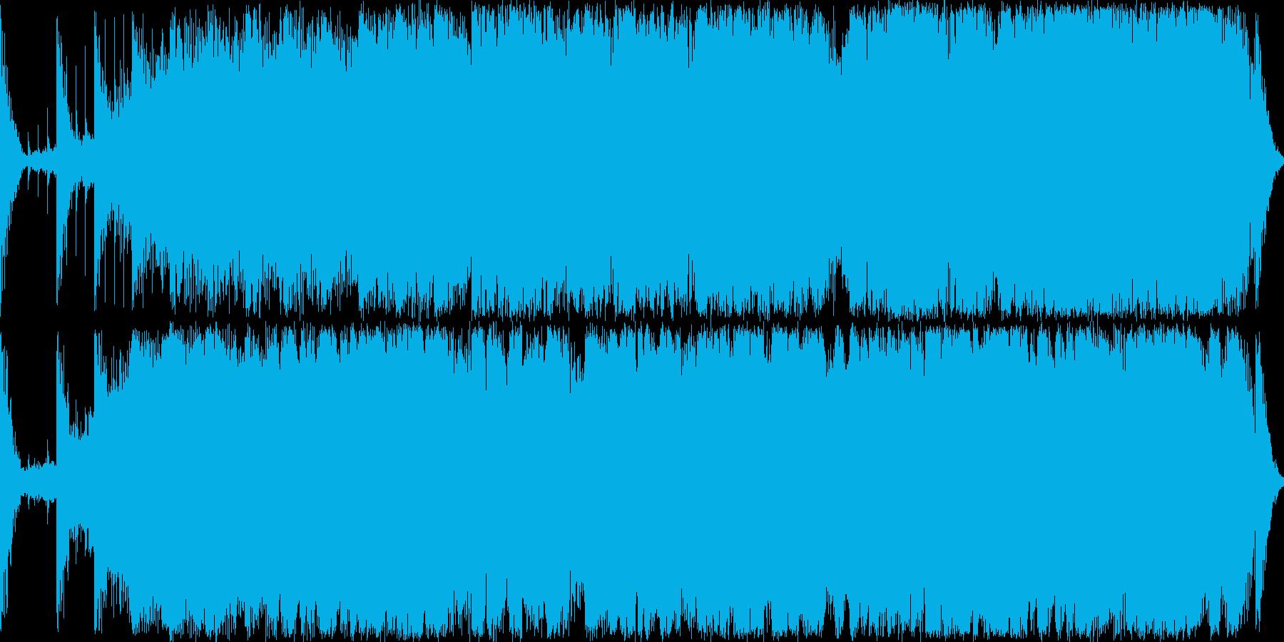 中国の楽器とシンセサイザーを組み合わせ…の再生済みの波形