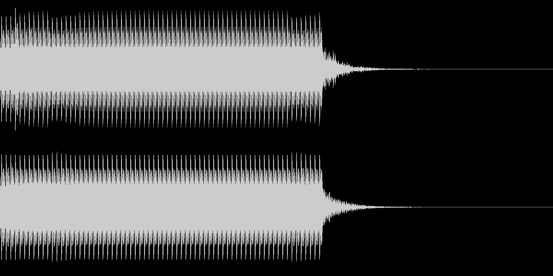 コイン70枚獲得 集計結果 チャリン の未再生の波形