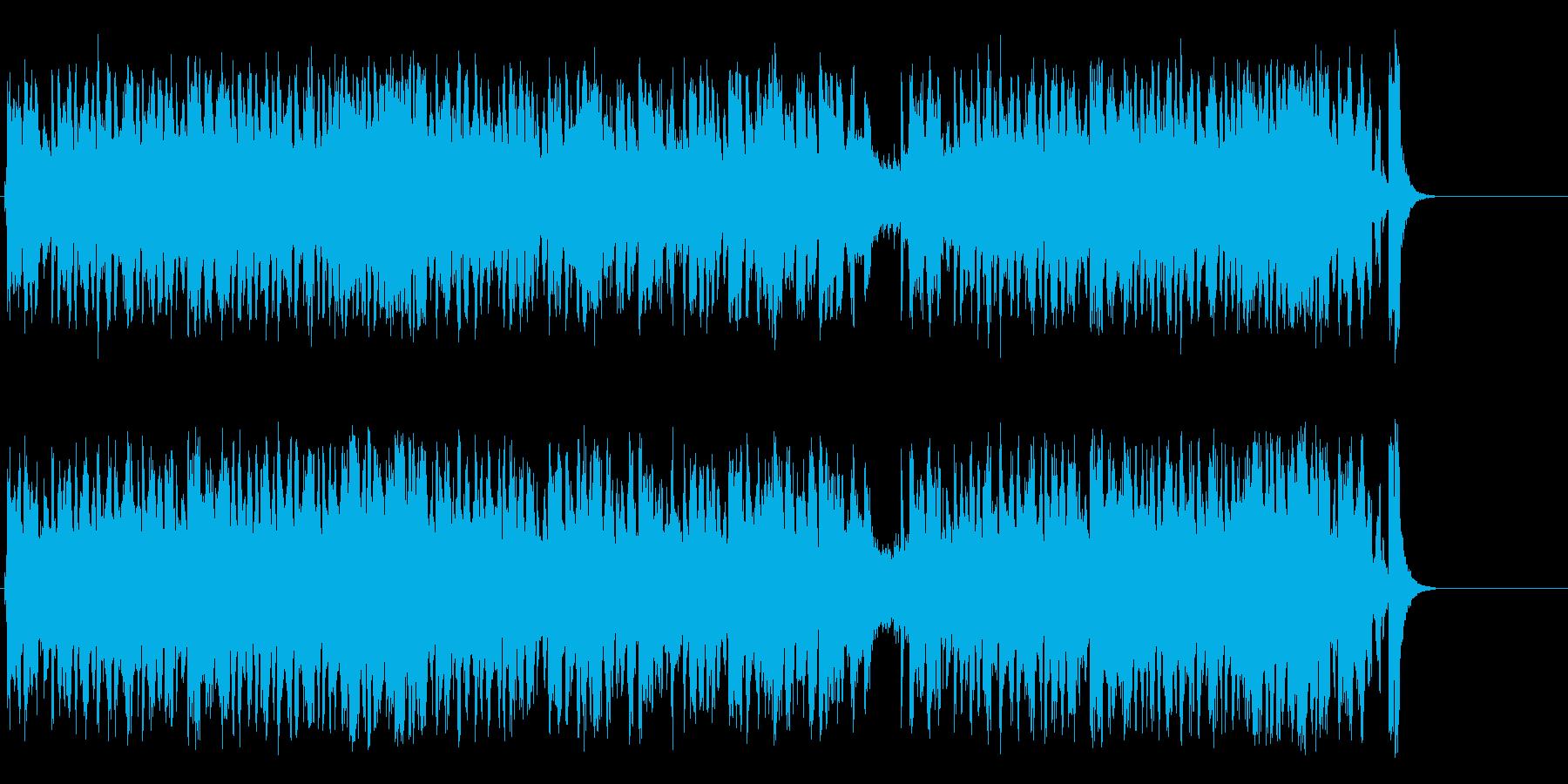 陽気なビッグ・バンド・ジャズ/テーマの再生済みの波形