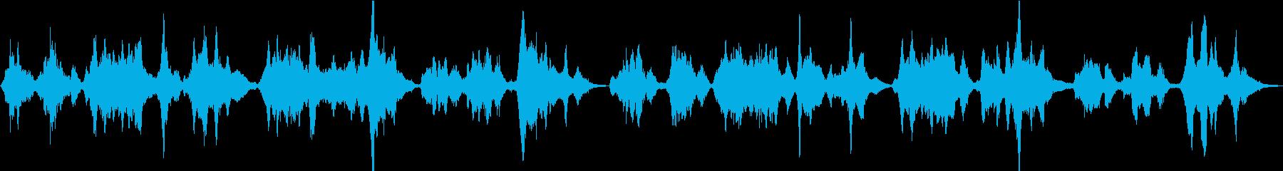 二胡が歌う日本の春「さくらさくら」の再生済みの波形
