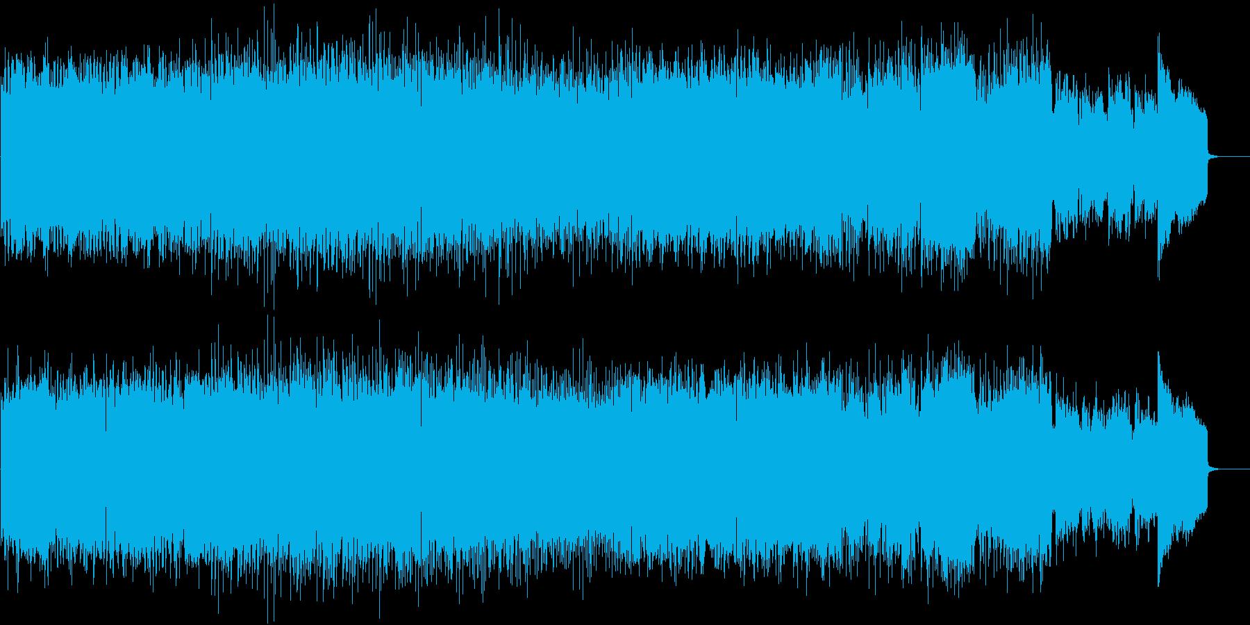 海中散策、エレクトロの再生済みの波形
