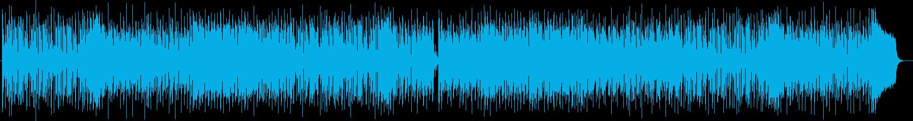 和テイストのあるポップなシンセ曲の再生済みの波形