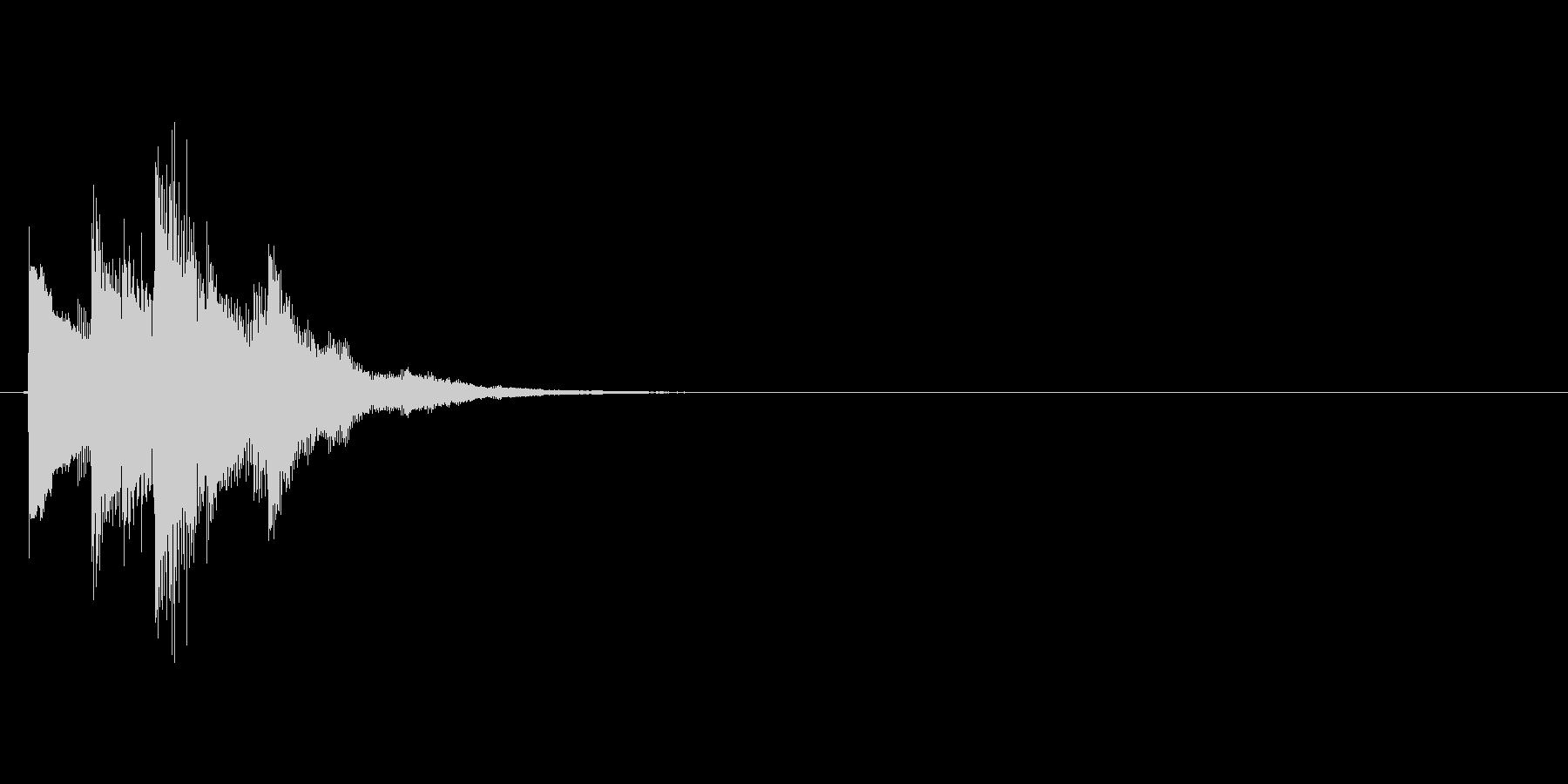 ピロリッ↑(アイテムゲット、決定)の未再生の波形