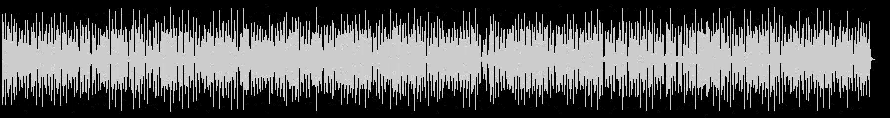 コミカルかわいいシンセサイザーサウンドの未再生の波形