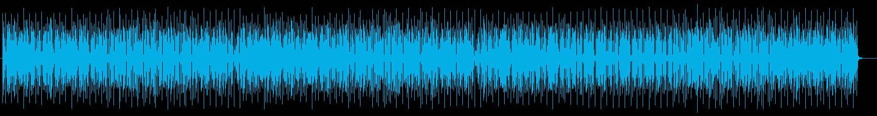 コミカルかわいいシンセサイザーサウンドの再生済みの波形