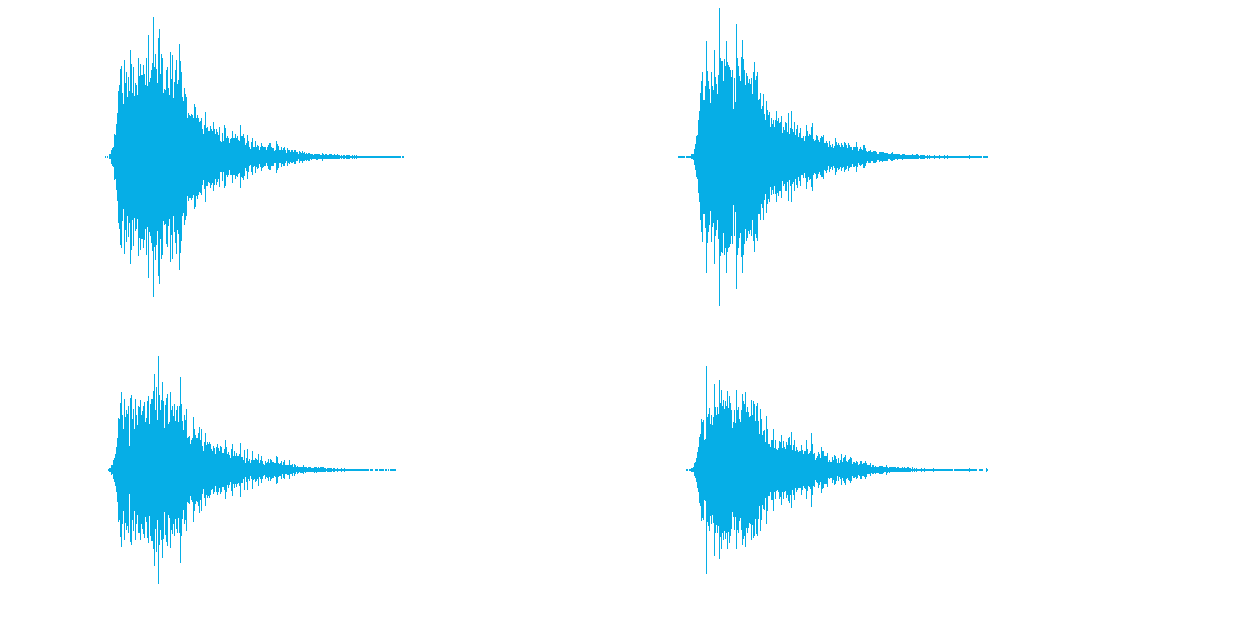 スプレーを噴きかける2の再生済みの波形