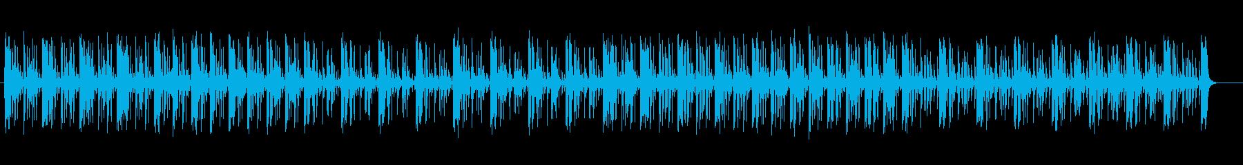 神秘的で幻想的なシンセサウンドの再生済みの波形