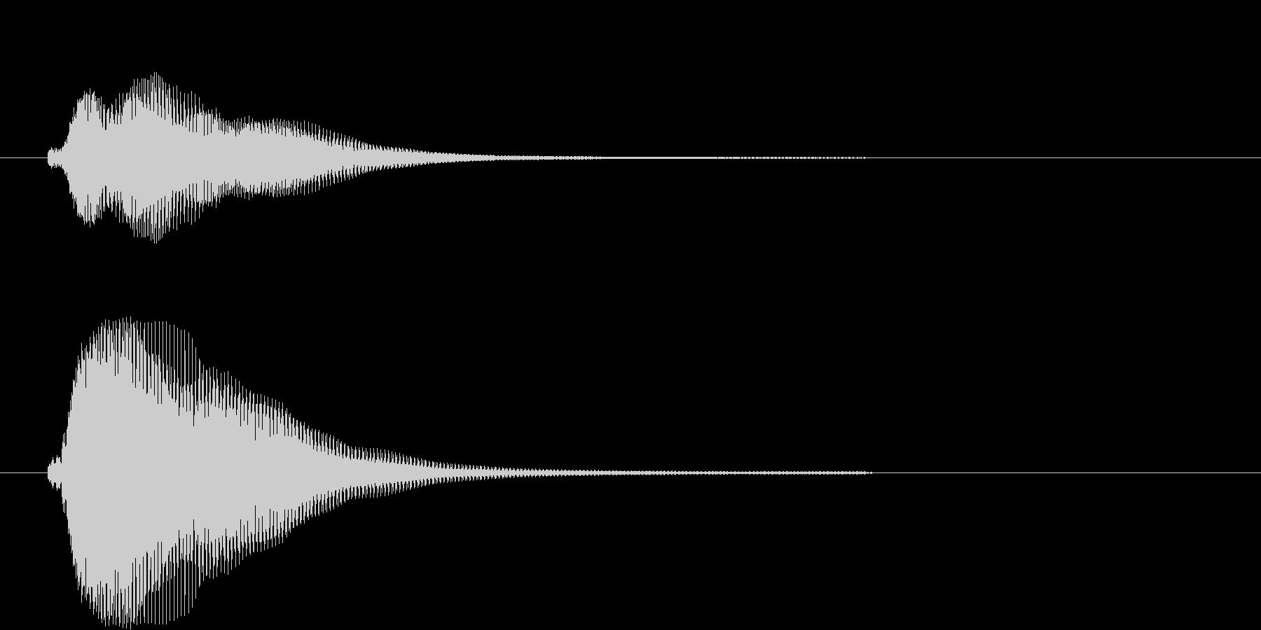 フィン(決定、アプリ、ゲーム)の未再生の波形