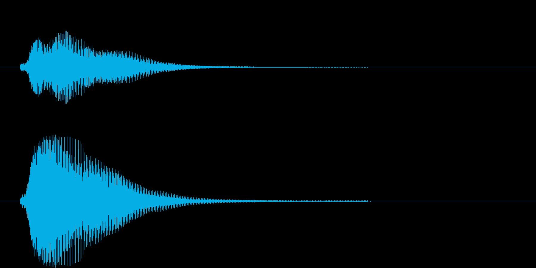 フィン(決定、アプリ、ゲーム)の再生済みの波形