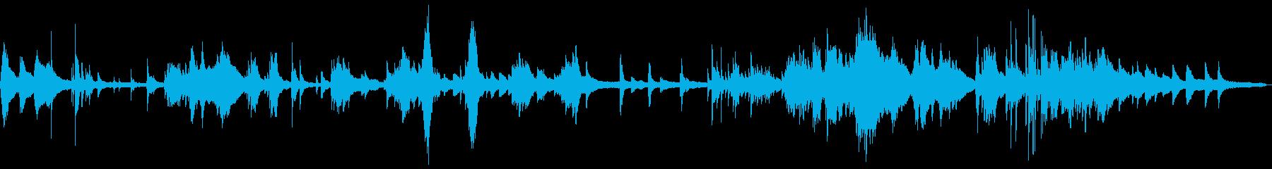 和風のしっとりした雰囲気2-ピアノソロの再生済みの波形
