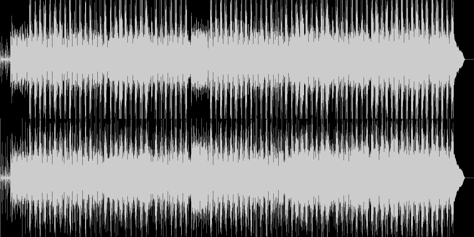 哀愁的なギターが特徴の落ち着いたBGMの未再生の波形