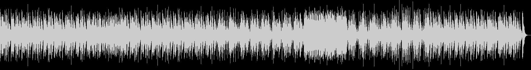 サスペンスな刻むマリンバソロの未再生の波形