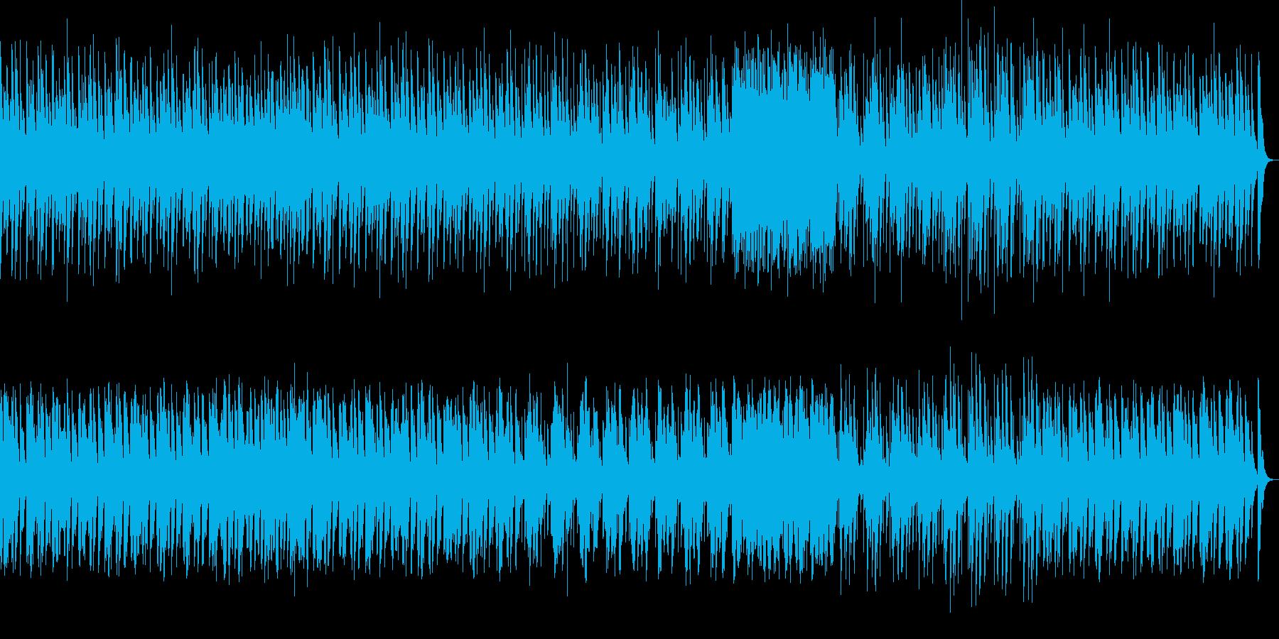 サスペンスな刻むマリンバソロの再生済みの波形