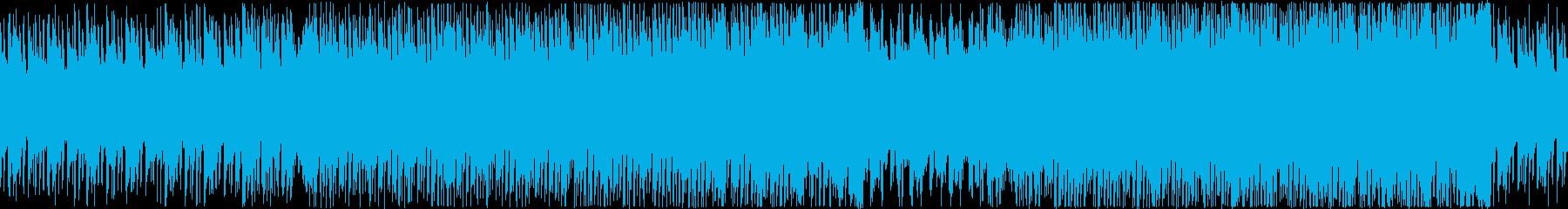 【ループ】夜の高速を走る雰囲気/レースの再生済みの波形