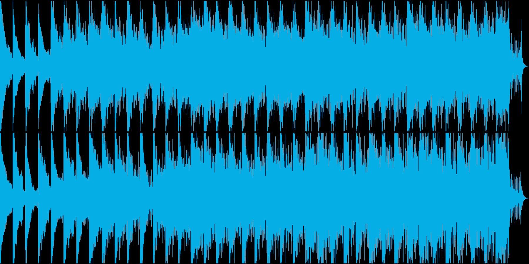 タイムラプス映像向けアンビエントの再生済みの波形