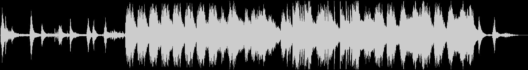 自然/朝/ピアノソロ BGMの未再生の波形