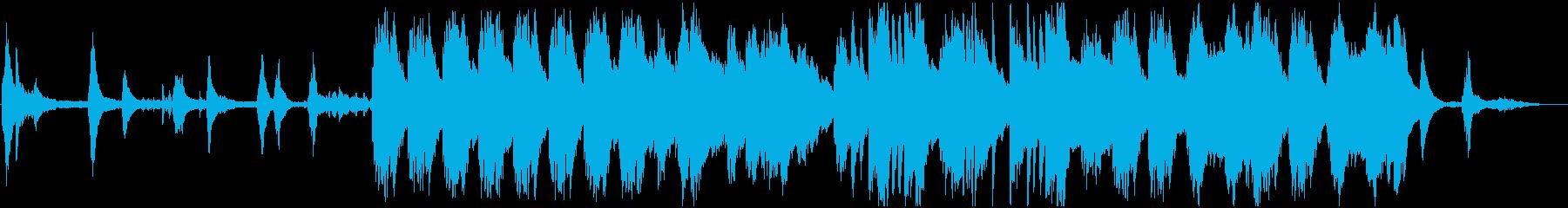 自然/朝/ピアノソロ BGMの再生済みの波形