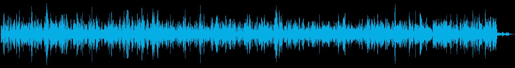 ザザザ (テレビの砂嵐)の再生済みの波形