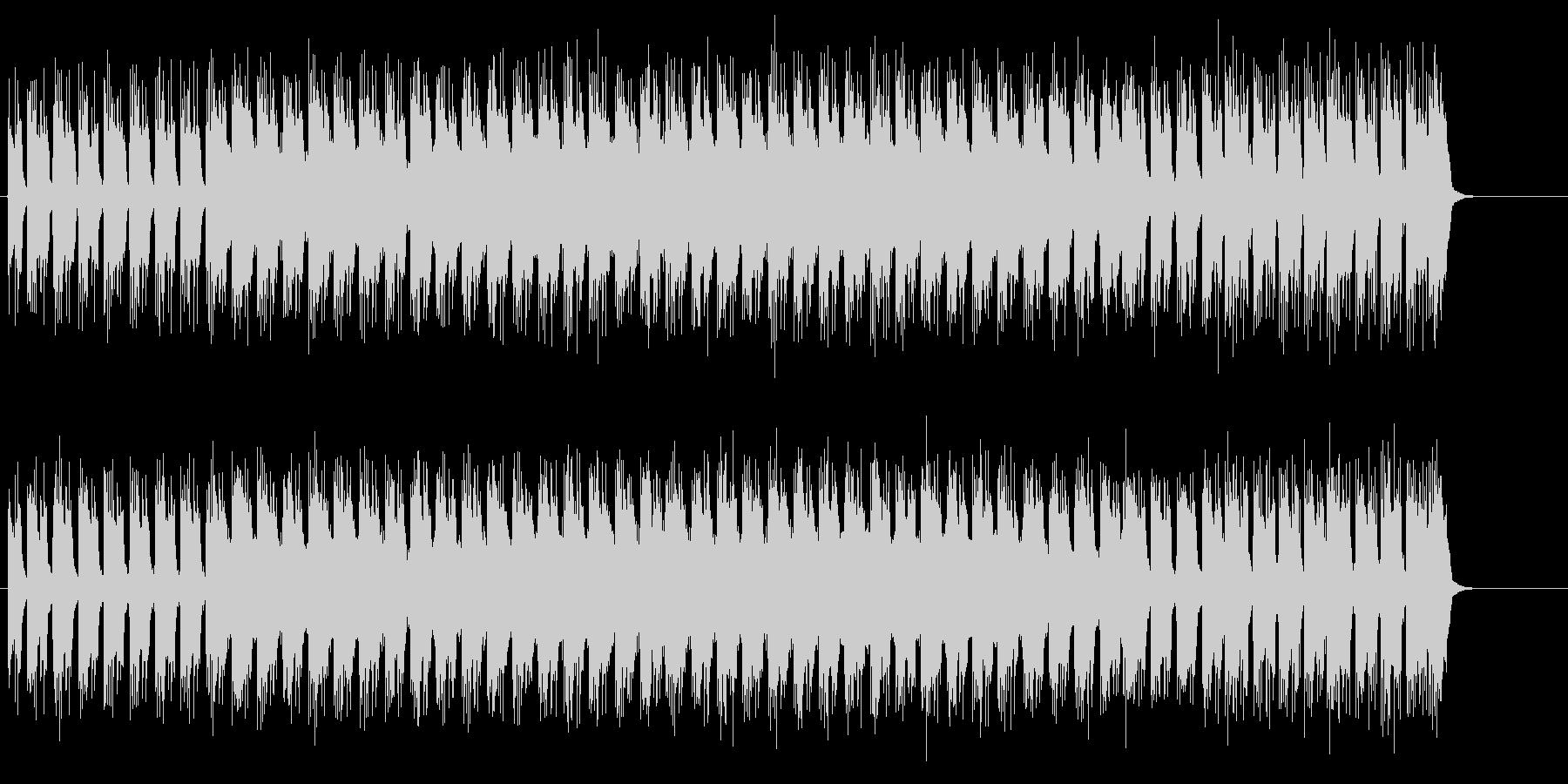 超合金的ギターリフ際立ちのハード・ロックの未再生の波形