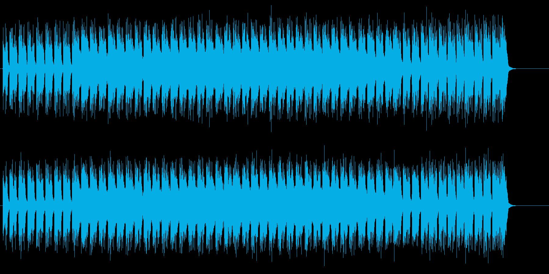 超合金的ギターリフ際立ちのハード・ロックの再生済みの波形