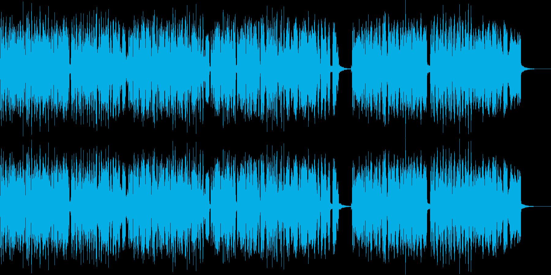 どこか懐かしいアコーディオンの音色の再生済みの波形