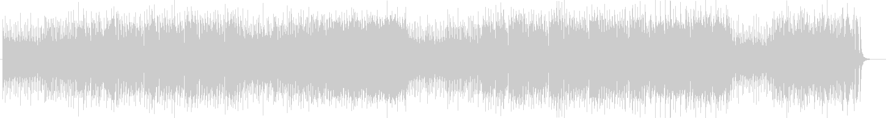 ユニークな鍵盤・打楽器・トランペット曲の未再生の波形