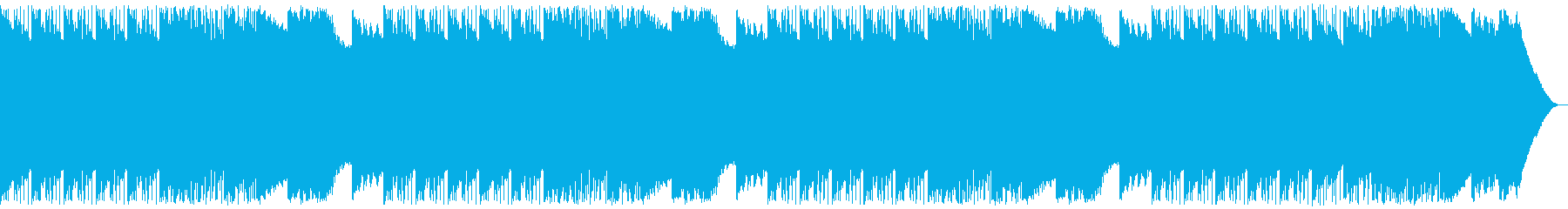 クラウド風のヒップホップビートの再生済みの波形