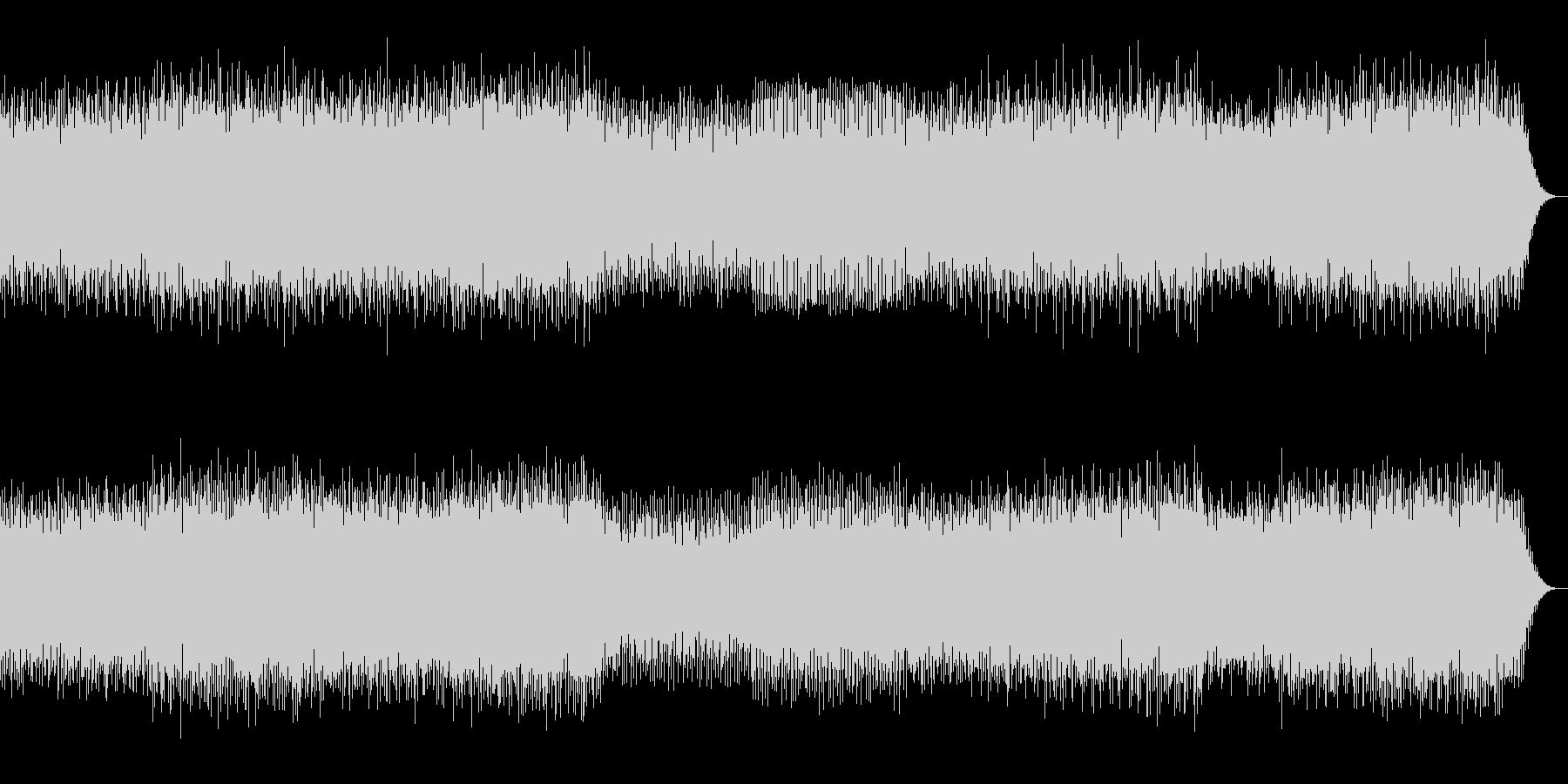 ブログレッシブハウス系の未再生の波形