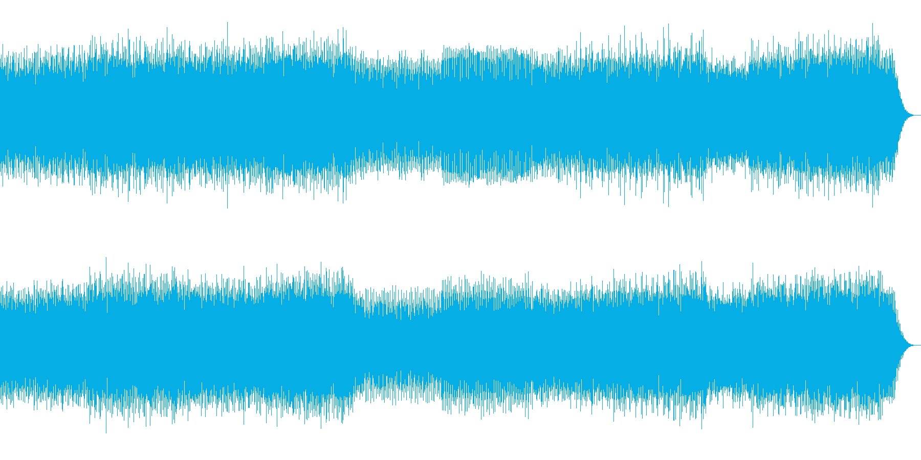 ブログレッシブハウス系の再生済みの波形