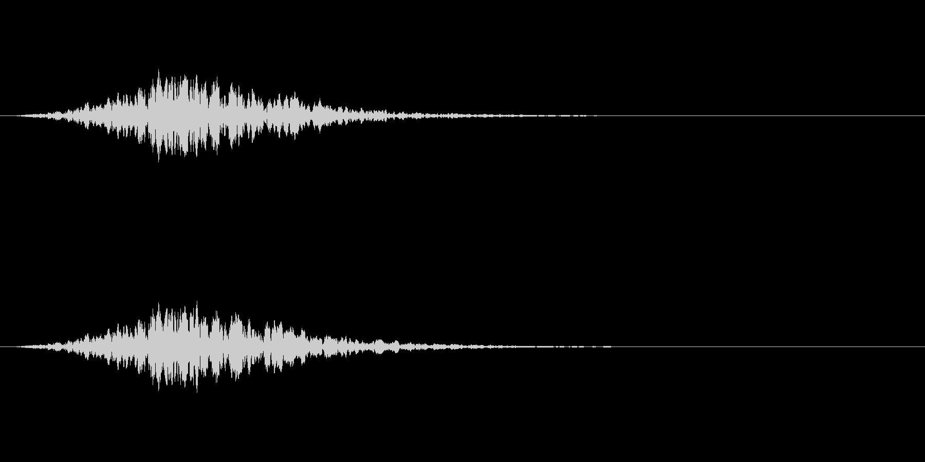 ヒュイーン(高速で移動する効果音)の未再生の波形