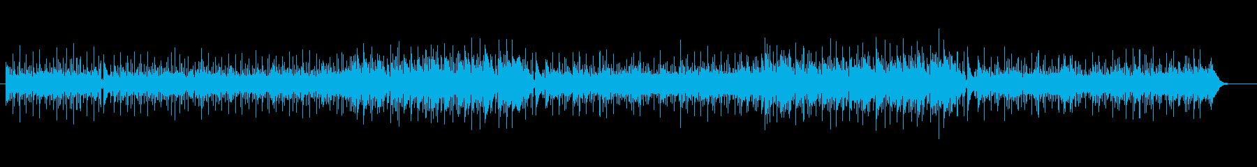 ゴージャスなピアノのメロディーの再生済みの波形