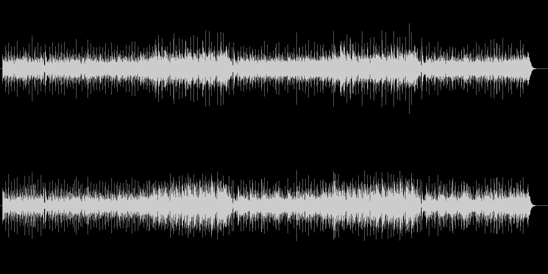 ゴージャスなピアノのメロディーの未再生の波形