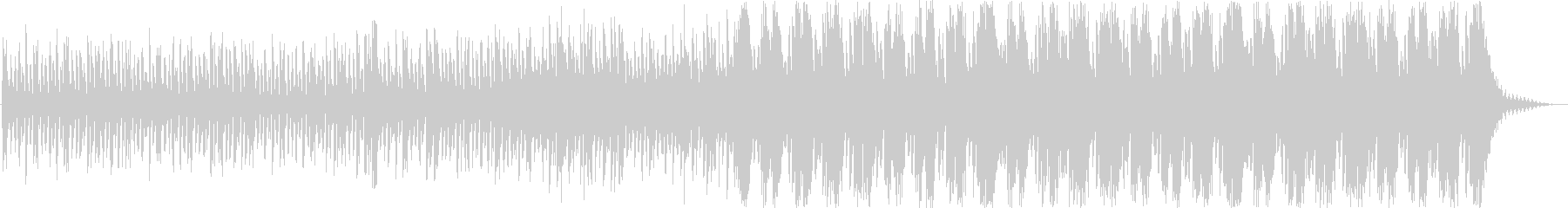 明るめなストリングスシネマティック曲の未再生の波形