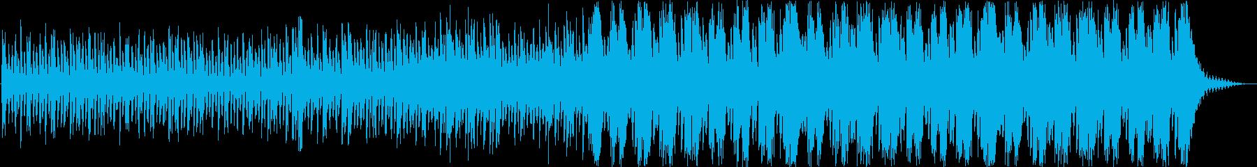 明るめなストリングスシネマティック曲の再生済みの波形