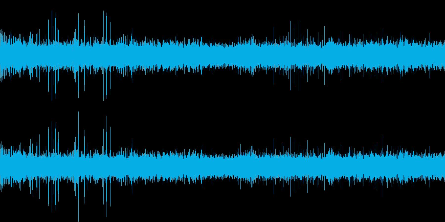 動物園(環境音)の再生済みの波形