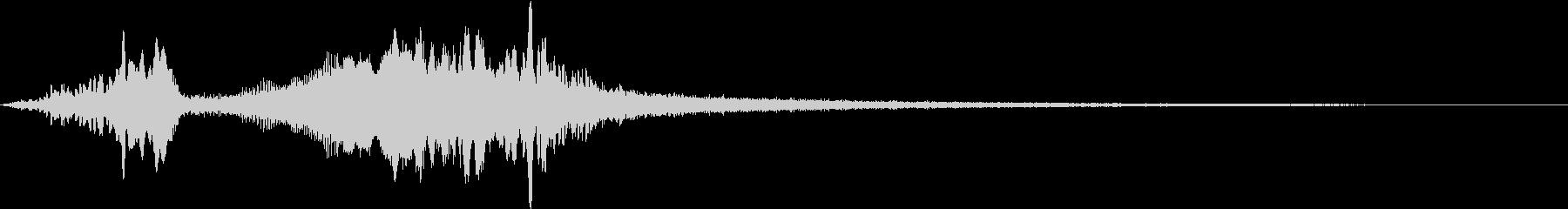 TV RADIO SFX2 ネクストの未再生の波形