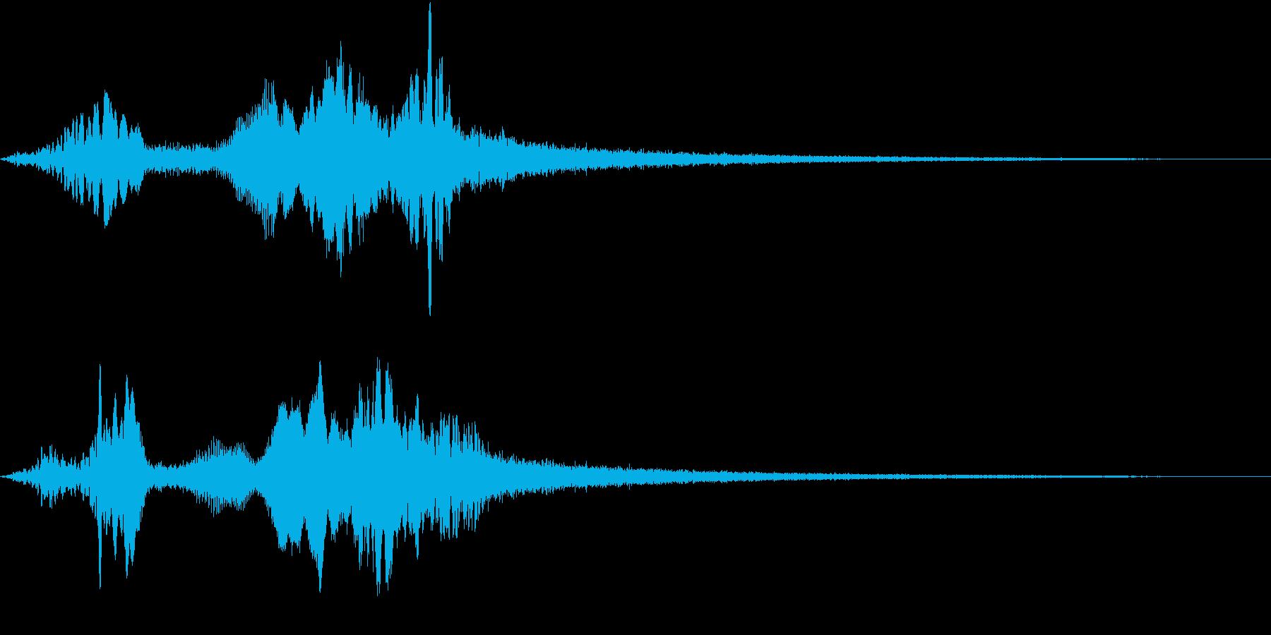 TV RADIO SFX2 ネクストの再生済みの波形
