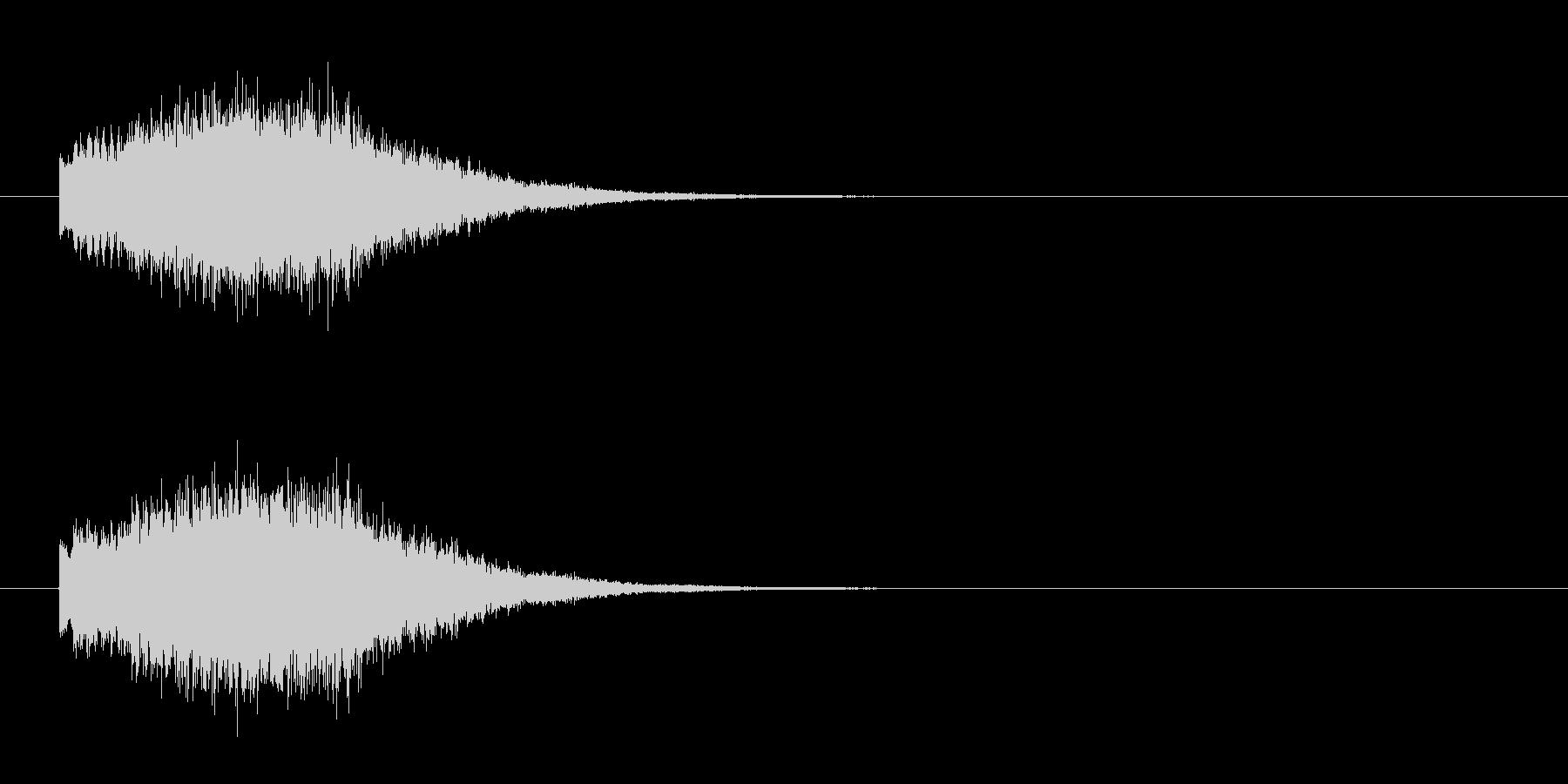 SynthBell_glissの未再生の波形