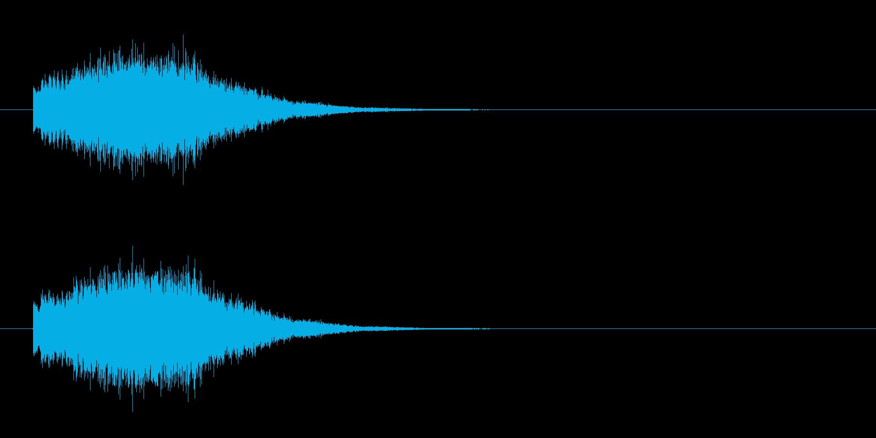 SynthBell_glissの再生済みの波形