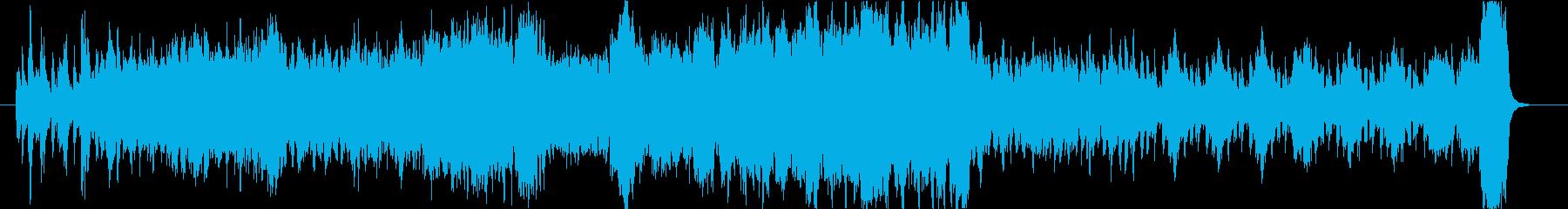 企業VP_信頼と実績_オーケストラの再生済みの波形