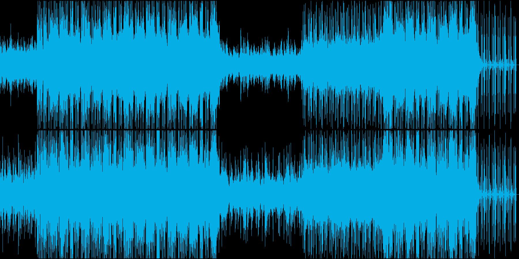 可愛らしい恋愛系エレクトロニカの再生済みの波形