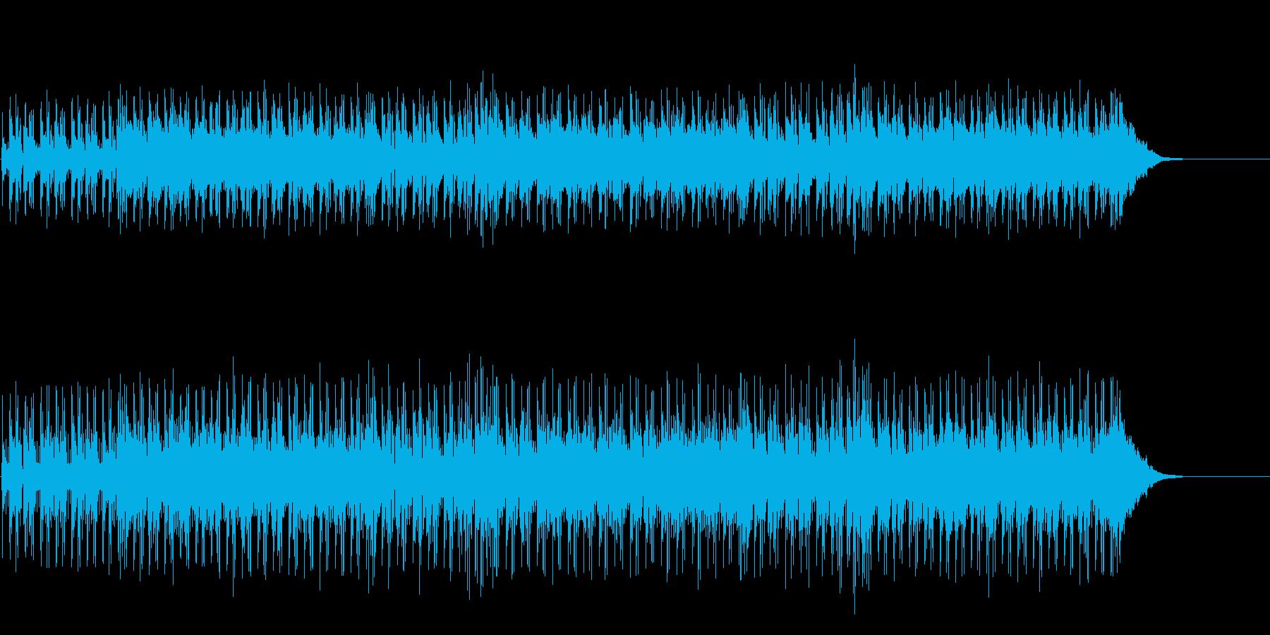 ノスタルジックのシンセ・サウンドの再生済みの波形