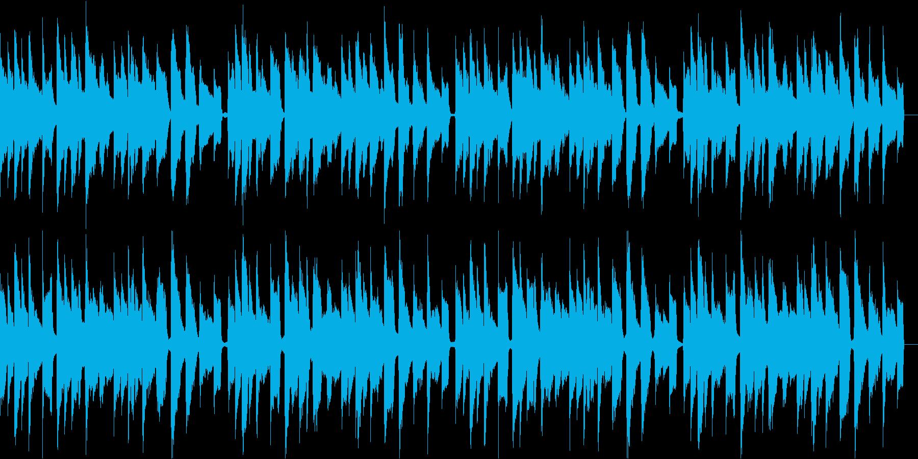 アコースティックギターでほっこりと 3の再生済みの波形