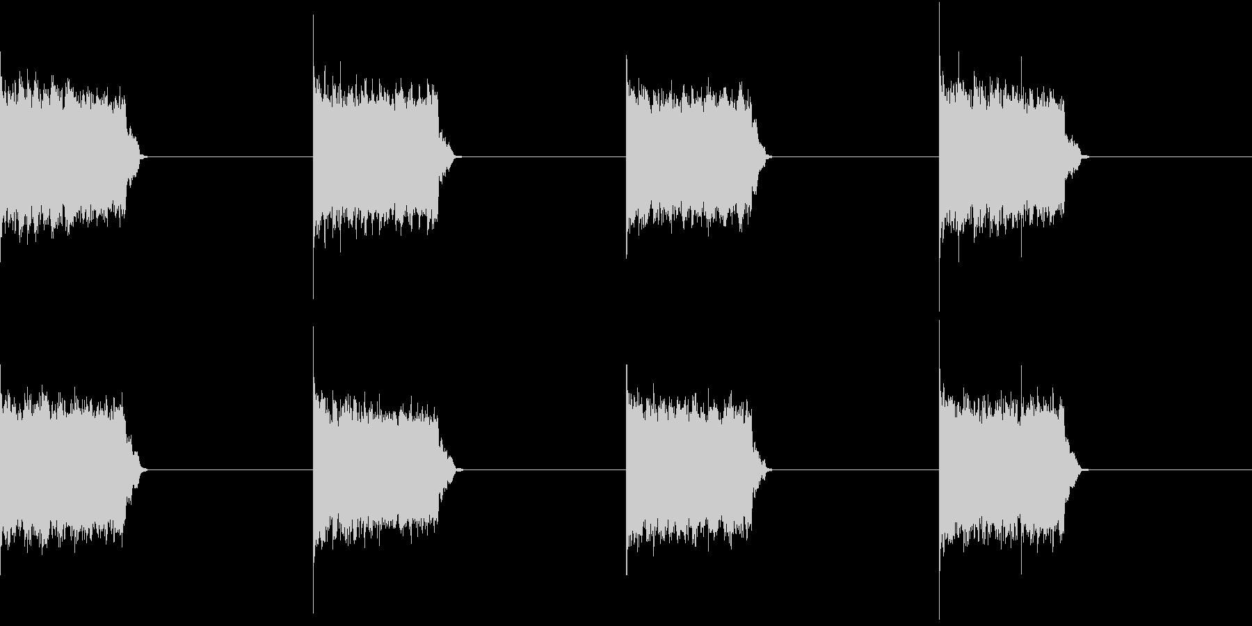 電話 呼び出し音 デジタル 固定電話の未再生の波形